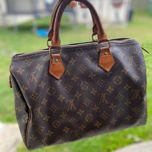 💕 Vtg Louis Vuitton speedy 30 Handbag